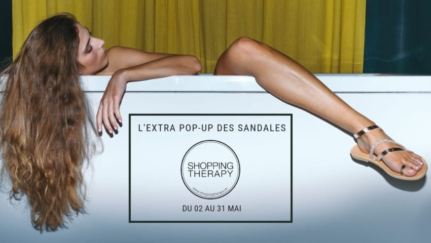 L'Extra Pop-up des Sandales Shoppingtherapy